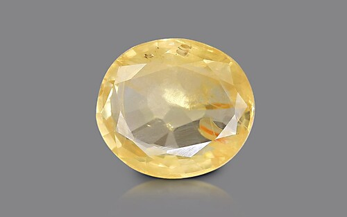 Yellow Sapphire - 5.78 carats