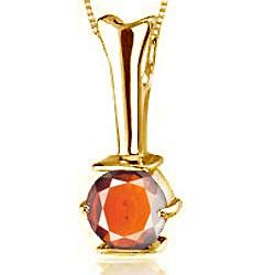 Hessonite Gold Pendant (D3)