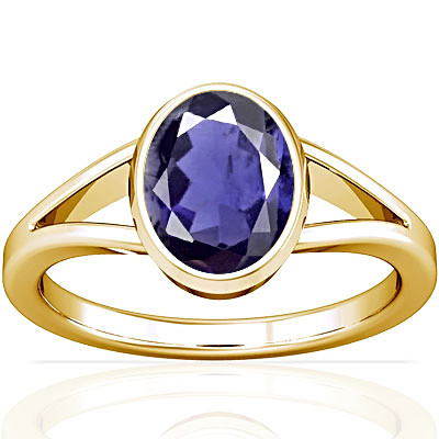 Iolite Gold Ring (A2)