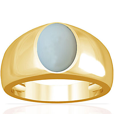 Moonstone Gold Ring (A16)