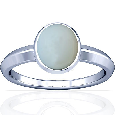 Moonstone Silver Ring (A1)