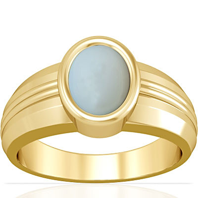 Moonstone Gold Ring (A4)