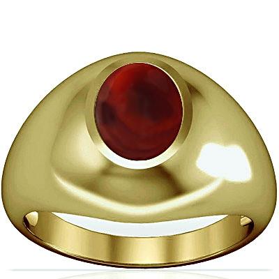 Red Onyx Panchdhatu Ring (A3)