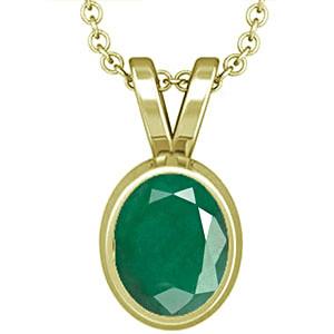 Emerald Panchdhatu Pendant (D1)