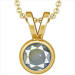 Pitambari Neelam Gold Pendant (Design D1)