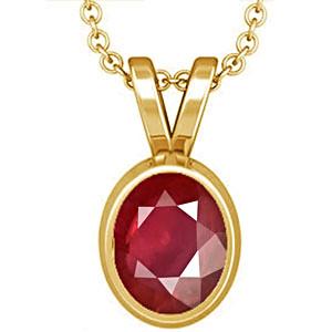 Ruby Gold Pendant (D1)