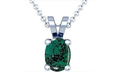 Turquoise Silver Pendant (D2)