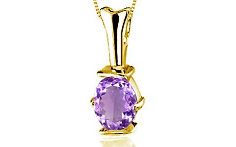 Amethyst Gold Pendant (D3)