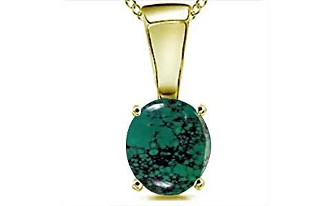 Turquoise Panchdhatu Pendant (D4)