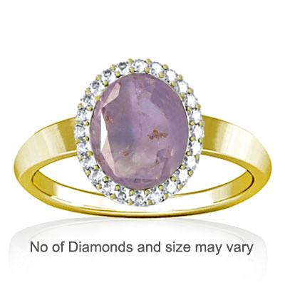 Purple Sapphire Panchdhatu Ring (R1-Sparkle)