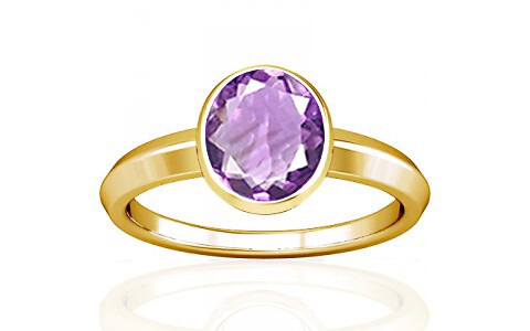 Amethyst Gold Ring (A1)