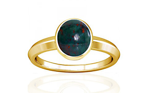 Bloodstone Gold Ring (A1)