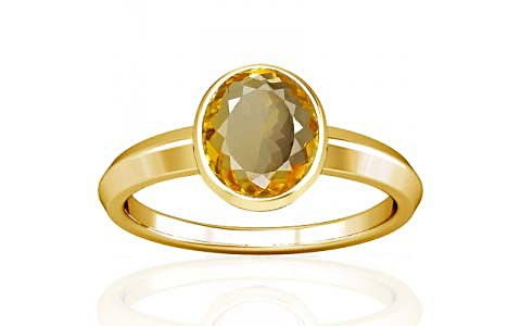 Citrine Gold Ring (A1)