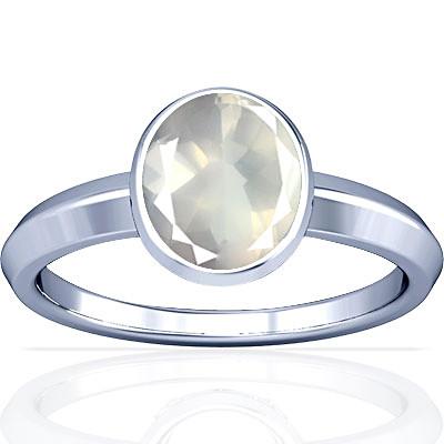 Rose Quartz Sterling Silver Ring (A1)
