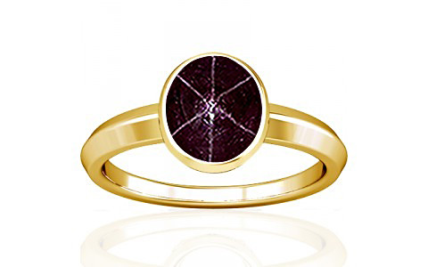 Star Ruby Gold Ring (A1)