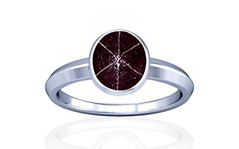 Star Ruby Silver Ring (A1)