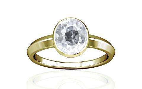 White Zircon Panchdhatu Ring (A1)
