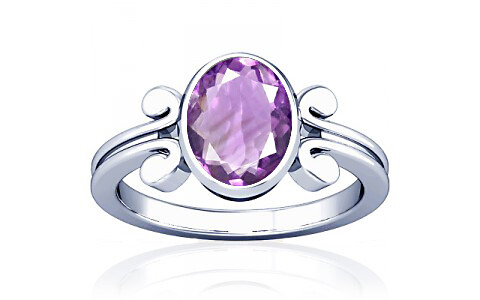 Amethyst Silver Ring (A10)