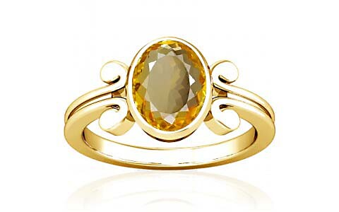 Citrine Gold Ring (A10)