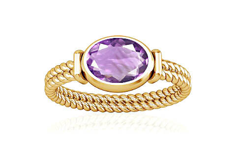 Amethyst Gold Ring (A11)