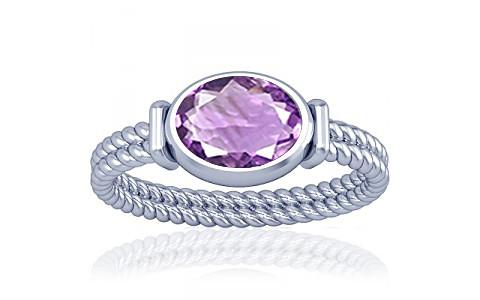 Amethyst Silver Ring (A11)