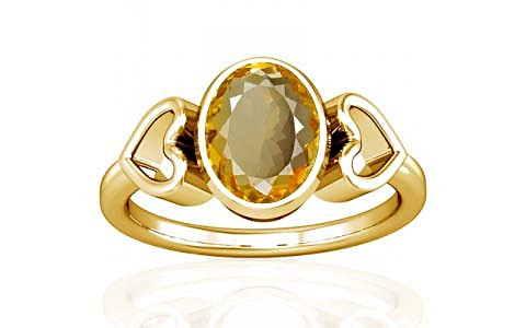 Citrine Gold Ring (A12)