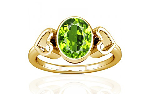 Peridot Gold Ring (A12)