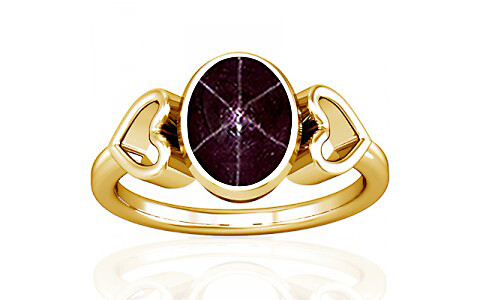 Star Ruby Gold Ring (A12)