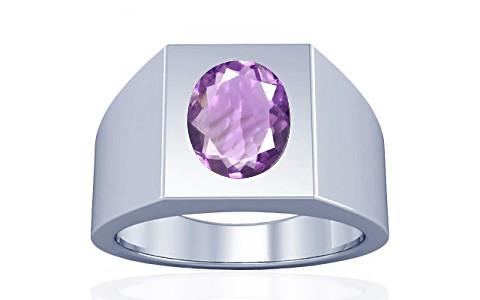 Amethyst Silver Ring (A13)