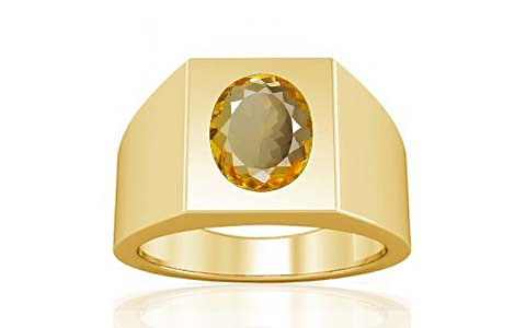Citrine Gold Ring (A13)