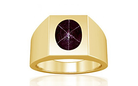 Star Ruby Gold Ring (A13)