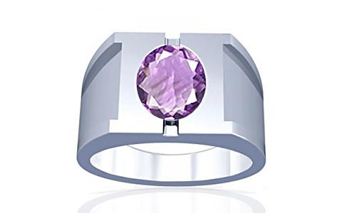 Amethyst Silver Ring (A15)