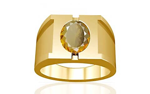 Citrine Gold Ring (A15)