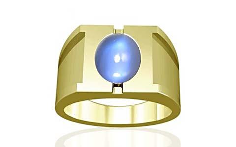 Blue Sheen Moonstone Panchdhatu Ring (A15)