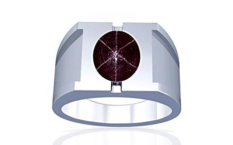 Star Ruby Silver Ring (A15)