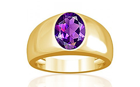 Amethyst Gold Ring (A16)