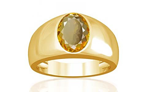 Citrine Gold Ring (A16)