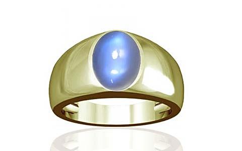 Blue Sheen Moonstone Panchdhatu Ring (A16)