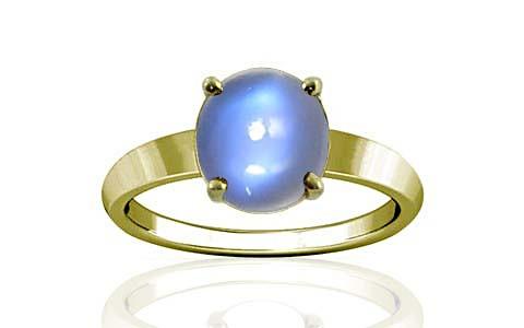 Blue Sheen Moonstone Panchdhatu Ring (A18)