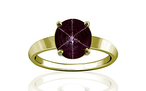 Star Ruby Panchdhatu Ring (A18)