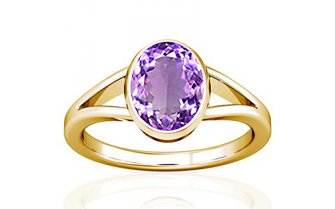 Amethyst Gold Ring (A2)