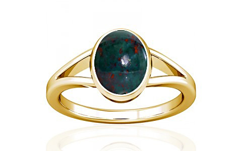 Bloodstone Gold Ring (A2)