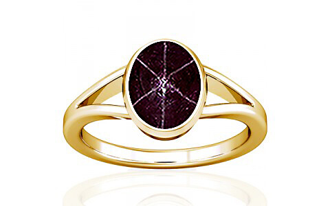 Star Ruby Gold Ring (A2)