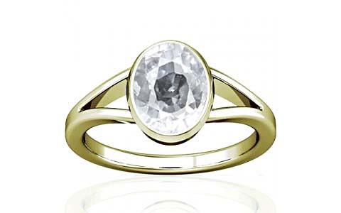 White Zircon Panchdhatu Ring (A2)