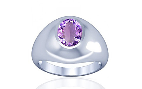 Amethyst Silver Ring (A3)