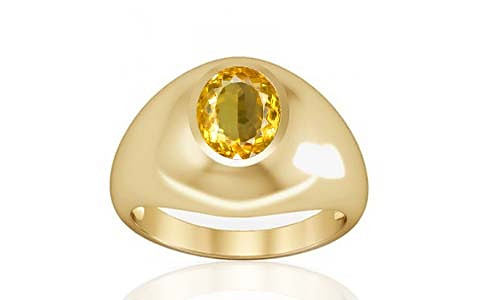 Citrine Gold Ring (A3)