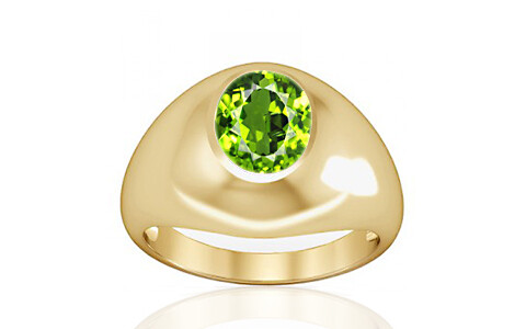 Peridot Gold Ring (A3)