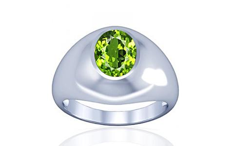 Peridot Silver Ring (A3)