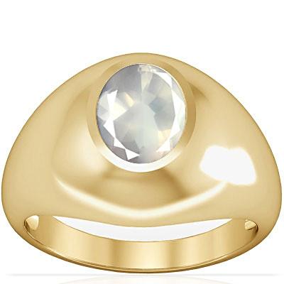 Rose Quartz Gold Ring (A3)