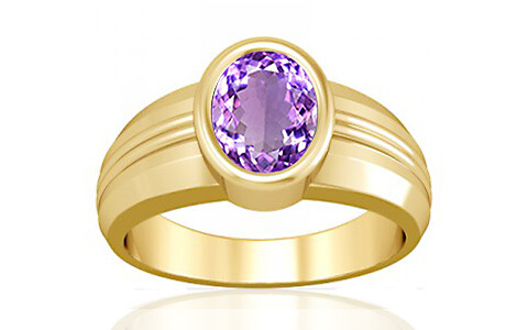 Amethyst Gold Ring (A4)